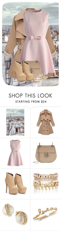 """""""Romance In The City Of Lights"""" by ggmusicista on Polyvore featuring moda, 1Wall, Chicwish, Chloé, River Island, Kate Spade, women's clothing, women, female e woman"""