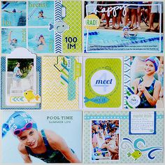 Project Life style hybrid layout created by Suzanna Lee