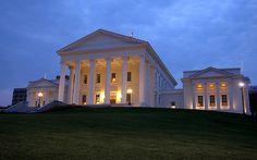 Virginia State House - Richmond, VA  USA