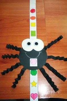 Classroom Freebies: Spider Shape Slider