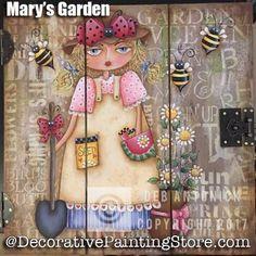 Marys Garden e-Pattern -Deb Antonick - PDF DOWNLOAD #decoartproject #paintingpattern