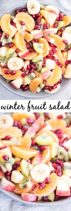 winter fruits healthy fruit dip with yogurt