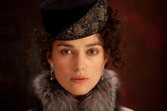 Keira-Knightley as 'Anna Karenina' I cannot wait for the movie this November! This is one of my favorite Tolstoy novels.