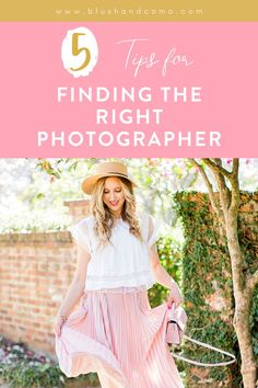No matter what you do, at some point, you're going to need a professional photographer to take some pictures! So, how do you find the perfect photographer for you? I went to a professional photographer that I've used and I asked her. Here are her 5 tips for finding the right photographer for you! #photographer #findingaphotographer #theperfectphotographer