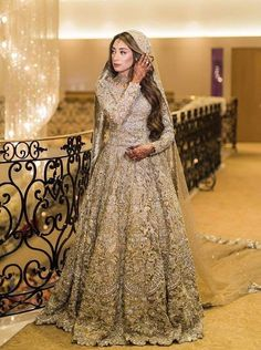 Pakistani Fashion Party Wear, Pakistani Wedding Dresses, Pakistani Dress Design, Beige Wedding Dress, Desi Wedding Dresses, Bridal Lehenga Collection, Walima Dress, Bridal Dress Design, Bridal Outfits