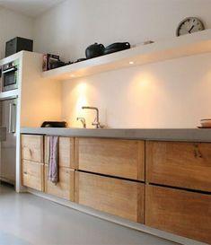 The Best Interior Design Of A Wooden Kitchen 44 Kitchen Interior, Wooden Kitchen, House Design, Interior, Kitchen Remodel, Best Interior Design, Kitchen Layout, Interior Design, Kitchen Design
