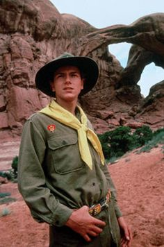 River Phoenix in Paramount Pictures' Indiana Jones and the Last Crusade