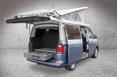 ausbau optionen der spacecamper vw t6 camping ausbau. Black Bedroom Furniture Sets. Home Design Ideas
