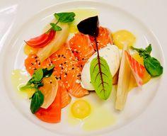 POLLOP - Sashimi de Saumon Gravlax à la betterave