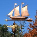 Copper Sailboat 157