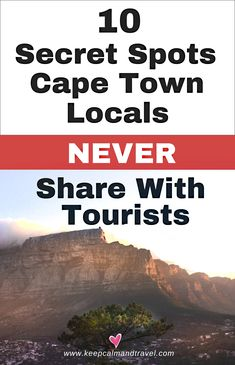 Looking for adventurous things to do in Cape Town - South Africa (besides the usual touristy stuff)? Check out these 10 activities, most of them known only by the locals (and they keep them for themse Travel Photographie, Adventurous Things To Do, Africa Destinations, Travel Destinations, Cape Town South Africa, Africa Travel, Hinata, Travel Inspiration, Travel Tips
