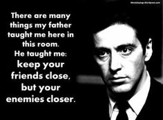 The Godfather- Directed by Francis Ford Coppola. A crime film with Al Pacino, Marlon Brando, Diane Keaton. Al Pacino, Alpha Male Quotes, Alpha Male Traits, Godfather Quotes, Godfather Movie, Andy Garcia, Great Quotes, Quotes To Live By, Inspirational Quotes