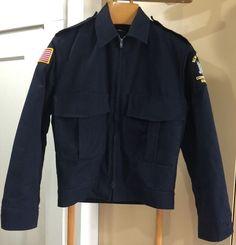 Vintage New York State Corrections Officer Excelsior Jacket 1980s Sz 40 Med | eBay