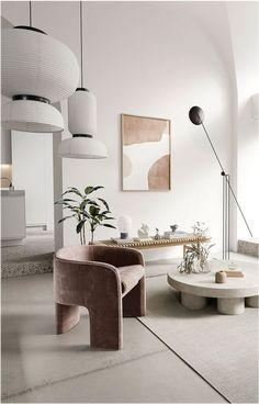 Modern Office Design, Office Interior Design, Zaha Hadid, Ibiza, Decor Pad, Appartement Design, Grey Furniture, Modern Armchair, Minimalist Living