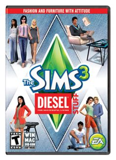 Buy The Sims 3 Diesel Stuff PC Games Windows 10 8 7 XP Computer expansion pack at online store Sims 3 Expansions, Box Software, Teen Series, 2012 Games, Gardening For Dummies, Organic Gardening Magazine, New Video Games, Gardening Courses, Player 1