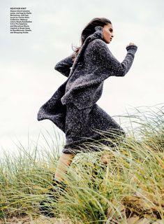 fall girls: cindy bruna by sebastian kim for allure november 2014
