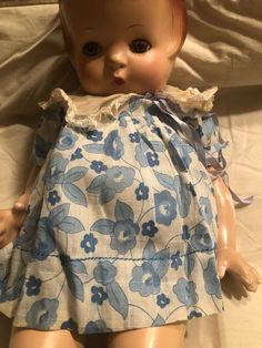 Patsys Ann Composition Doll 21inches  Needs To Be Restrung  Clothes And Shoes As Effanbee Dolls, New Outfits, American Girl, Vintage Dresses, I Shop, Composition, Pin Up, Ann, Dressing