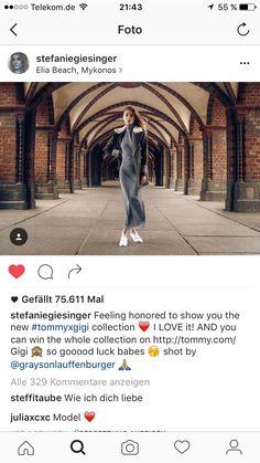 TommyXGigi @ STEFANIEGIESINGER - Instagram, August 2016