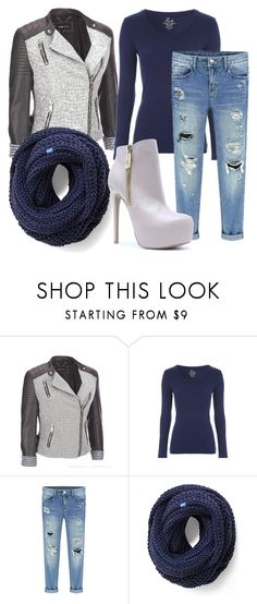 """""""Untitled #44"""" by kacie-weirich ❤ liked on Polyvore featuring Black Rivet, Keds and Qupid"""