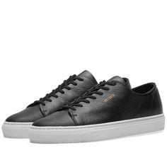 Axel Arigato Toe Cap Sneaker (Black Leather) | END.