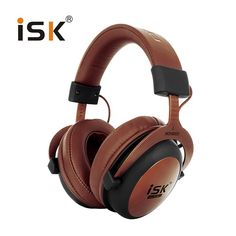 On sale US $45.99  Original ISK MDH8500 Professional Monitor Studio Headphones Closed Dynamic Powerful DJ Over Ear HiFi Headset Auriculars  Get discount for product: Xiaomi