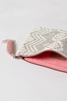 Explore Anthropologie's unique collection of New Arrivals, featuring the season's newest arrivals. I Believe In Pink, Wedding Clutch, Happy Girls, Winter Outfits, Zip Around Wallet, Pouch, Stylish, Geo, Gypsy