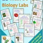 Biology Labs: 15 Must-do Labs For A Biology Or Life Science Class