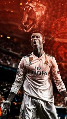 The King Ronaldo. Cristiano Ronaldo 7, Ronaldo Cr7, Cristiano Ronaldo Wallpapers, Ronaldo Football, Cr7 Jr, Ronaldo Quotes, Madrid Football, College Football, Real Madrid Players