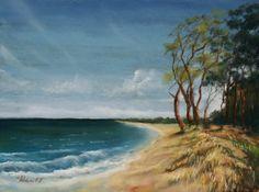 Ahrenshoop, pastel painting from Michael Frahm