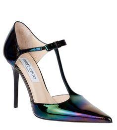 Twain hologram patent pump Jimmy Choo - Designer Shoes at ShopSavannahs.com
