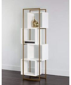 Home Decorators Hazelwood Mo Cube Bookcase, Etagere Bookcase, Bookcase White, Bookcases, Metal Furniture, Diy Furniture, Furniture Design, Modern Home Furniture, Furniture Vintage