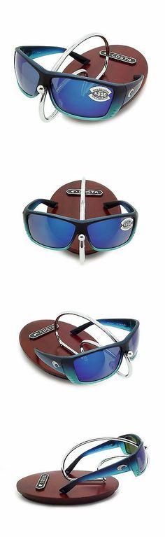 1eceabd3e9a Sunglasses 151543  Costa Del Mar Cat Cay Matte Caribbean Fade And Blue  Mirror Glass 580