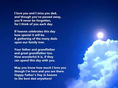 Deceased Fathers Day Quotes From Daughter