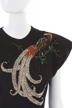 Another Ceil Chapman dress girls of circa 1948. MMMM love the bird embroidery here!!!!