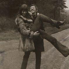 Jane Birkin and Serge Gainsbourg by Patrick Bertrand