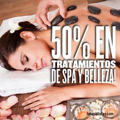 Hoy te traigo una oferta súper especial! 50% de descuento en todos los tratamientos que compres en la web de BlissBooker a través de mi página de cupones Solo tienes que ir a http://www.lasestilistas.com/cupones-descuento/ _____________________ If You are in spain You can enjoy a 50% discount on beauty treatments buying them on my page.
