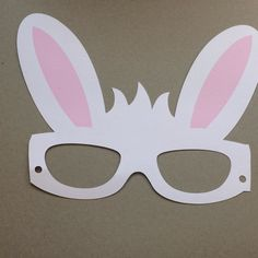 Easter Projects, Easter Crafts, Paper Crafts For Kids, Diy For Kids, Lapin Art, Paper Bunny, Easter Bunny Ears, Baby Quiet Book, Toddler Art