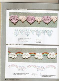 Crochet Garland - Chart