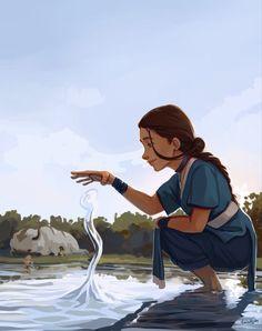 Avatar Airbender, Avatar Aang, Avatar Legend Of Aang, Team Avatar, Avatar Fan Art, Aang The Last Airbender, The Legend Of Korra, Water Bending, Film Anime