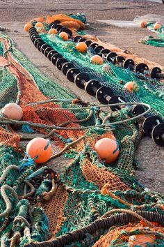 fishing nets...scotland
