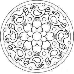 MANDALES PRIMAVERA - Anna Alonso - Picasa Webalbums Mandalas Drawing, Mandala Coloring Pages, Colouring Pages, Adult Coloring Pages, Coloring Sheets, Coloring Books, Mandala Design, Mandala Art, Embroidery Patterns Free