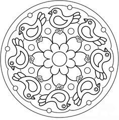 MANDALES PRIMAVERA - Anna Alonso - Picasa Webalbums Mandalas Drawing, Mandala Coloring Pages, Colouring Pages, Printable Coloring Pages, Adult Coloring Pages, Coloring Sheets, Coloring Books, Embroidery Patterns Free, Zentangle Patterns
