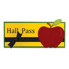 Make this adorable Hall Pass for next year - lesson plan/instructions included!  :)