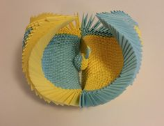 Origami, Hand Fan, Home Appliances, Crafting, House Appliances, Origami Paper, Appliances, Origami Art