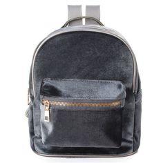 cc1e7cff0f15 AEQUEEN Fashion Women Backpacks School Bags Cute Velvet Casual Retro  Backpack Flannel Mochila Zipper Small Sack Bags 4 Colors