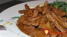Cum să prepari cel mai gustos Boeuf Stroganoff: o rețetă care te va cuceri! Czech Recipes, Russian Recipes, Russian Dishes, Beef Mushroom Stroganoff, Stroganoff Recipe, Beef Recipes, Cooking Recipes, Meat Seasoning, Tasty