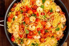 Bruschetta Shrimp Pasta  - Delish.com