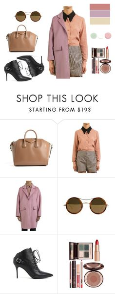 """""""Pastel in the winter"""" by dante5 ❤ liked on Polyvore featuring Givenchy, Marni, P.A.R.O.S.H., Kyme, Giuseppe Zanotti, Charlotte Tilbury and Nails Inc."""
