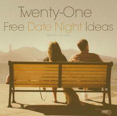 Twenty-One Free Date Night Ideas | MeetKristy.com