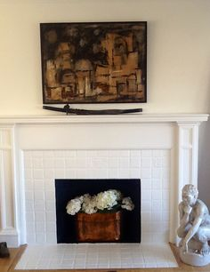 """Pinterest idea that I did in my own fireplace after The Air Quality Commission"""" declared so many no burn days this year ."""